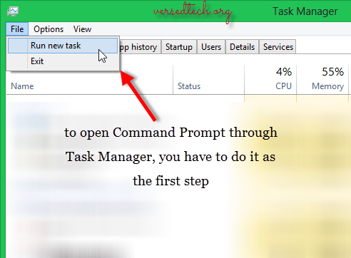 Alternative Ways to Open Command Prompt