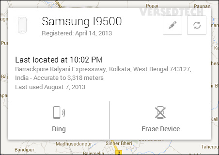 Enable Android Device Manager