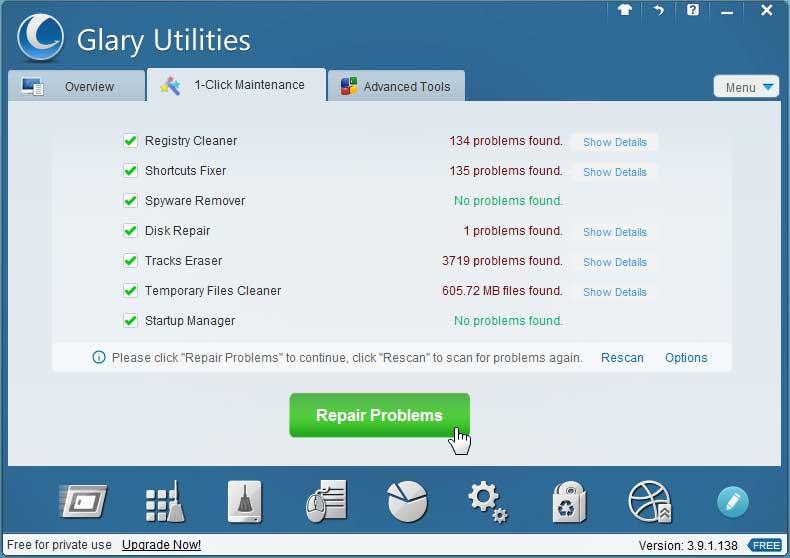 how to make repair utilities windows 10