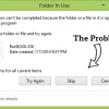 Fix Folder to Fix Folder In Use/Cannot Delete Problem in Windows